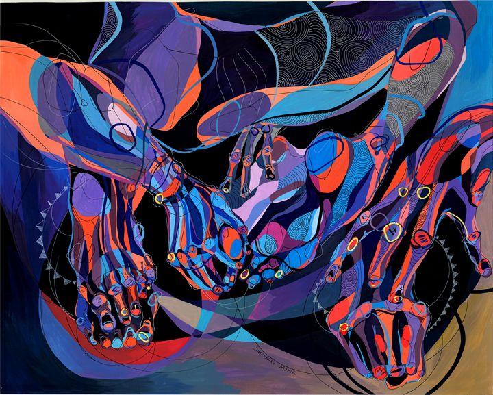 Twisted Lines - Maria Susarenko