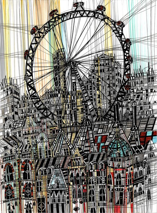 London Eye - Maria Susarenko