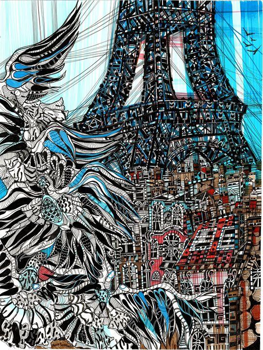 Paris. Birds - Maria Susarenko
