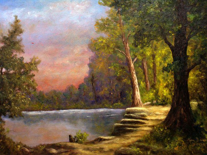 Ancient Path - Ken Brewer Art