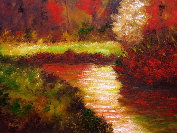 Indian Summer - Ken Brewer Art