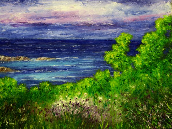 Ocean View - Ken Brewer Art
