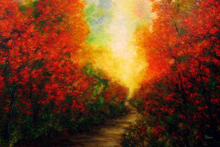 Path Into Light - Ken Brewer Art