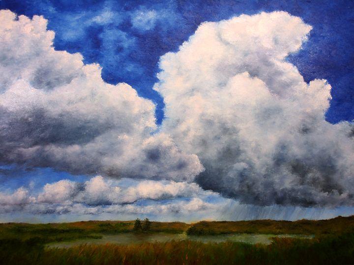 Rain Clouds - Ken Brewer Art