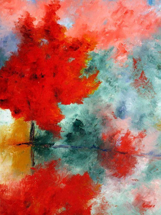 Autumn Fog - Ken Brewer Art