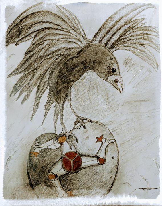 The Manx Crow, Maggie Reyonlds Down - Maggiedoodles