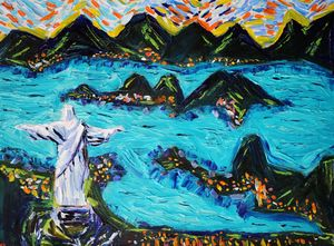 Lapis Christ the Redeemer