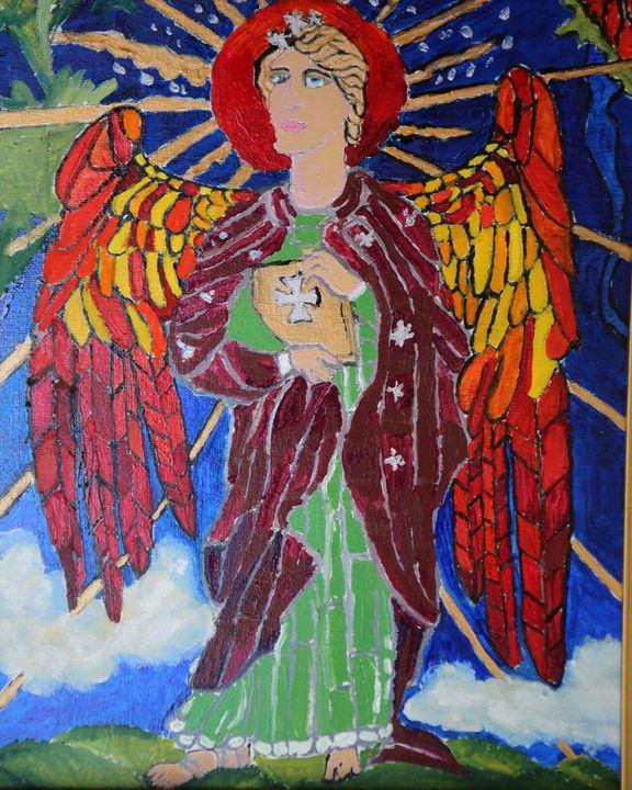 Uriel Guardian Angel - Artallegory
