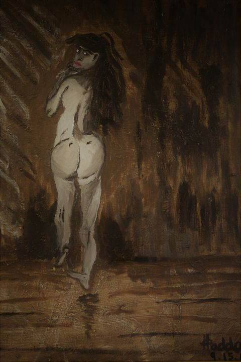 Nude Oil Study - Artallegory