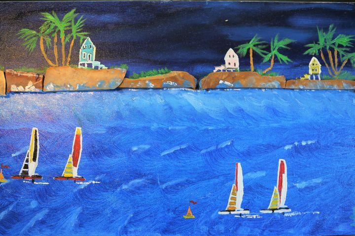 Regatta  Saint Martin On Exhibit! - Artallegory