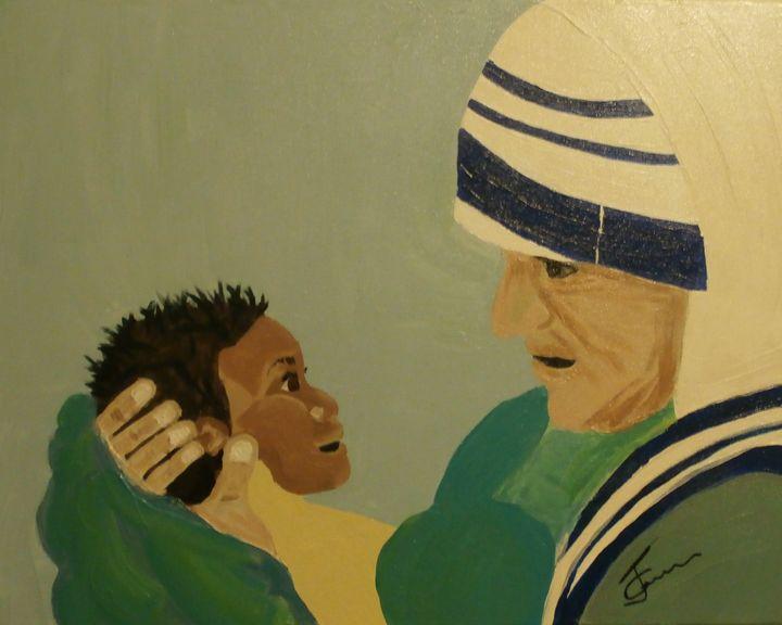 Mother Teresa - JGaribaldiart