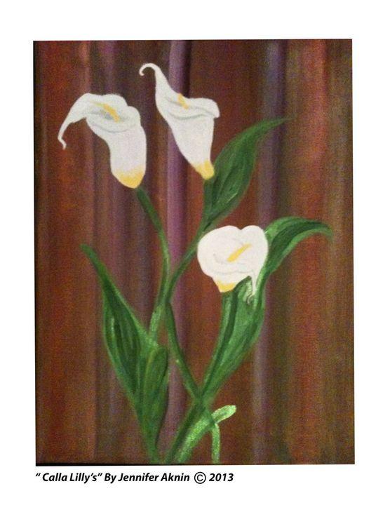 Calla Lilly's - Jenn's Wall Art LLC