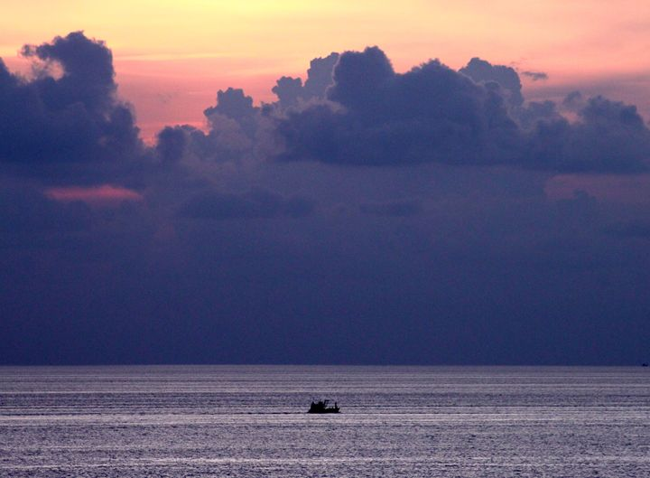 Sunset and Boat - Phuket, Thailand - CJN - Art & Photography