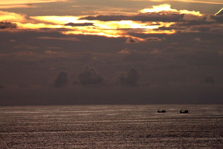 Sunset and Boats- Phuket, Thailand - CJN - Art & Photography