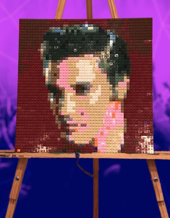 Lego mosaic - ZKLEGOBUILDERS