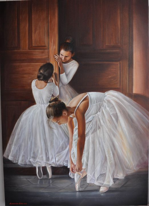 Балерины №1 - Yalpachek-Levy