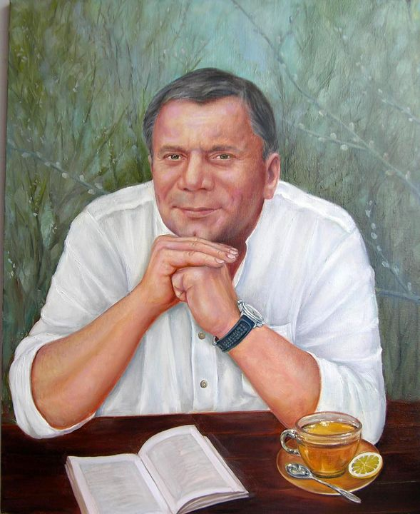 Portrait of Deputy Prime Minister of - Yalpachek-Levy