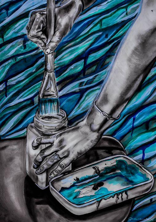 Portrait of Hands #3 - Jennifer Kellum Clements