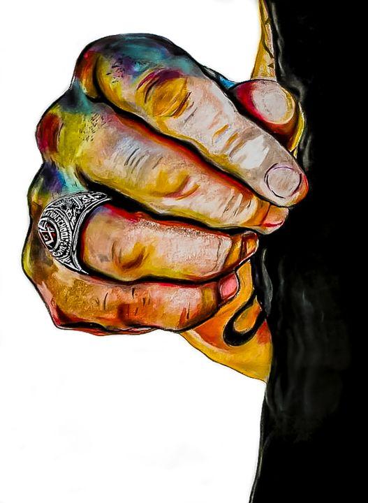 Hands Series #2 - (Heirloom) - Jennifer Kellum Clements