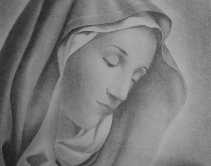 Mary - Art By Paul S.