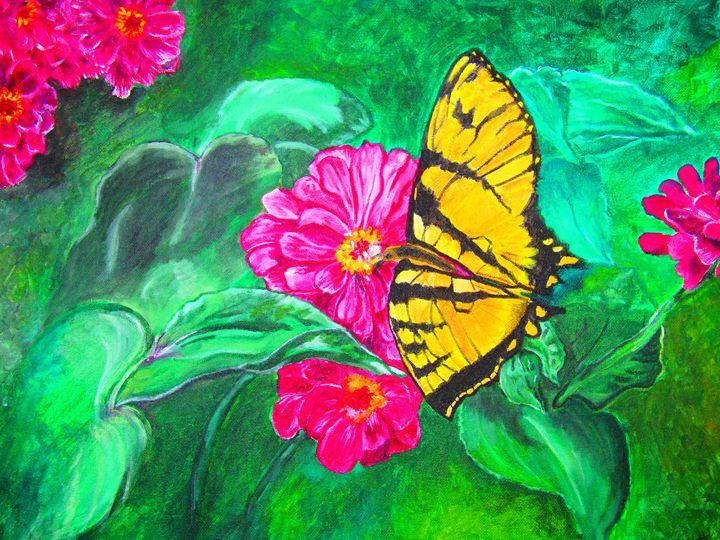 Vibrant Colors of Life - AMK DiMaggio