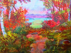 Hidden Path in Forest - AMK DiMaggio