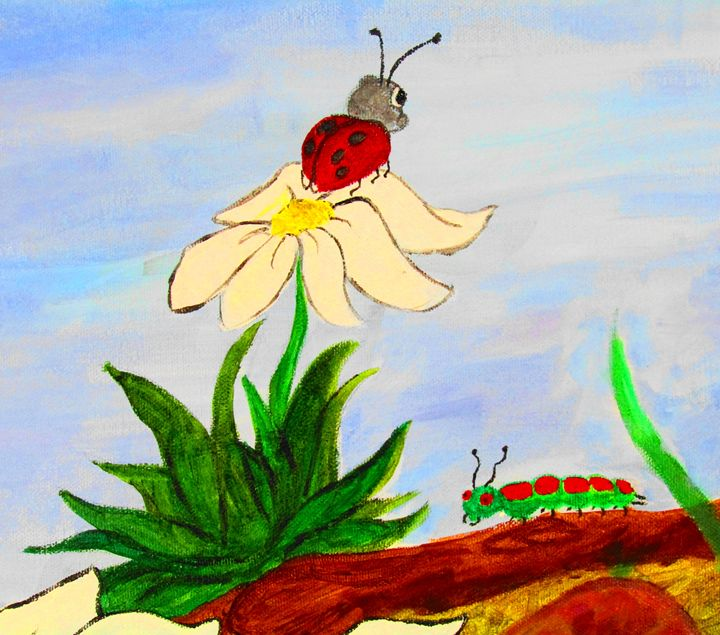 Lady bug with Friend - AMK DiMaggio