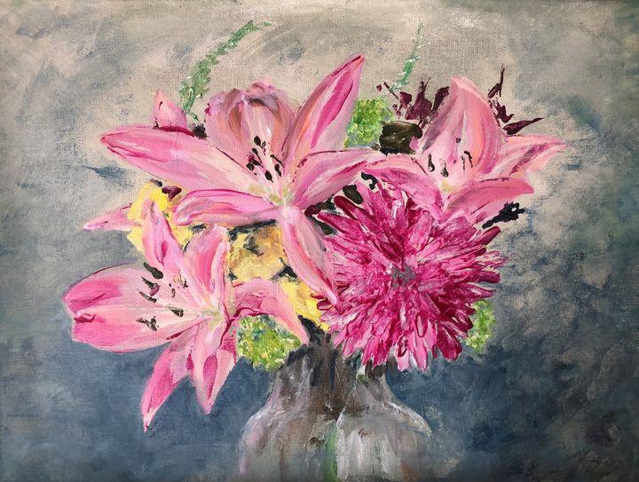 Les Fleurs - Jan Darcy Art