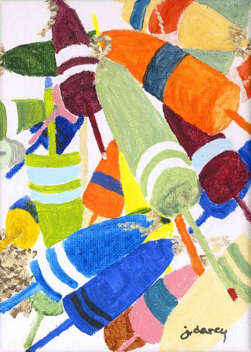 Buoys - Jan Darcy Art