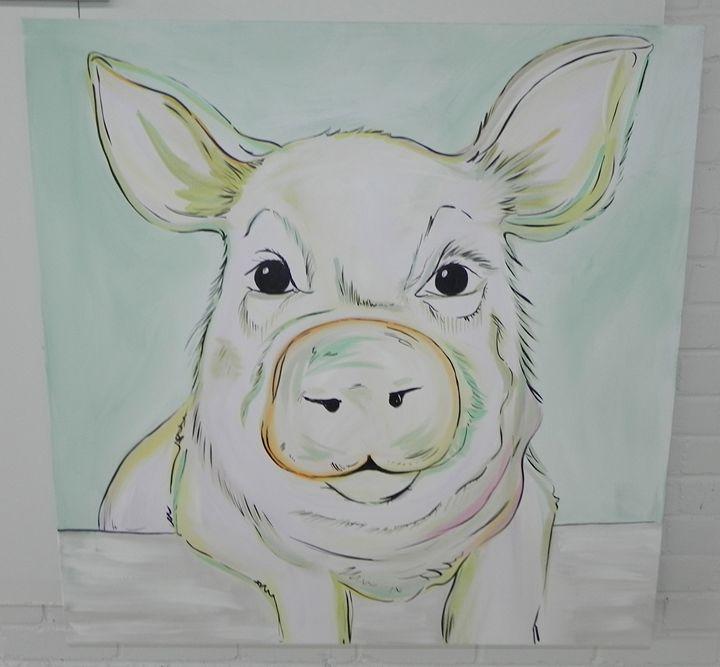 Perplexed Pig - Carolina Furniture and Art