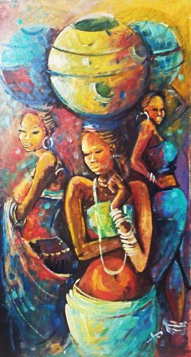 African Women -  Fonaeki