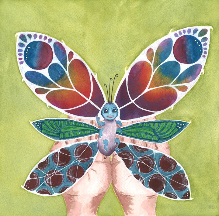 The Butterfly - Kim Polinder