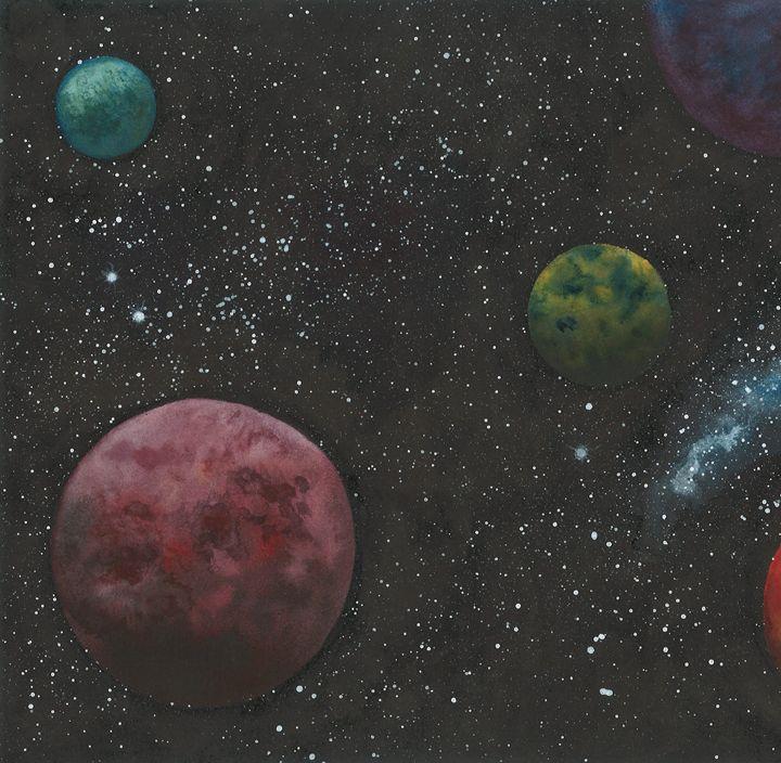 Flying Through Space 1 - Kim Polinder