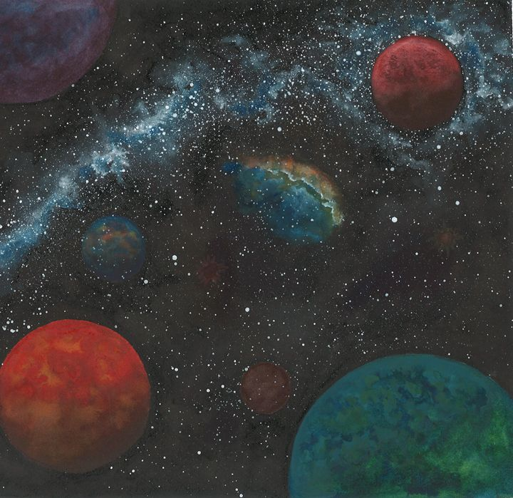 Flying Through Space 2 - Kim Polinder