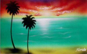 FLORIDA POSTCARD - Mokupuni Studios