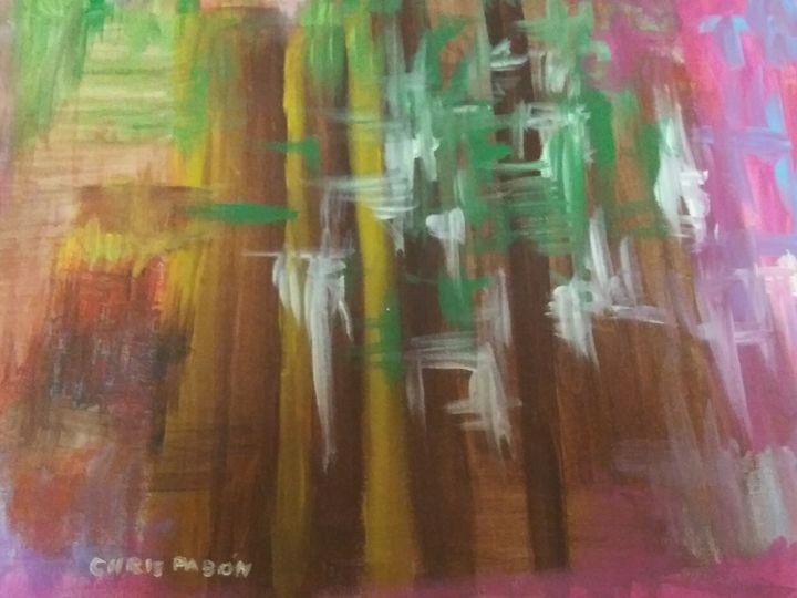 Trees - Chris Pabon Contemporary Art Gallery