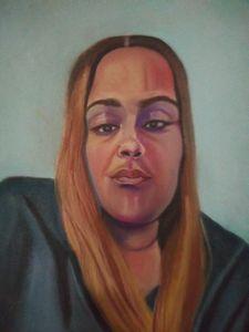 Portrait of a woman named regime
