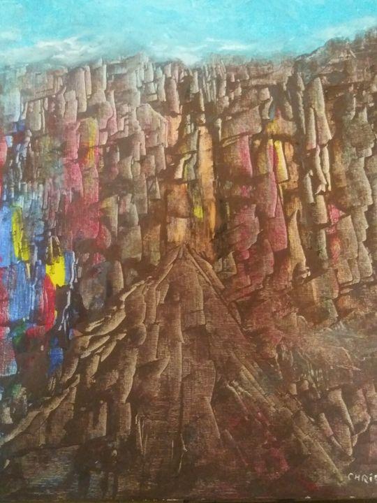 City of stones - Chris Pabon Contemporary Art Gallery