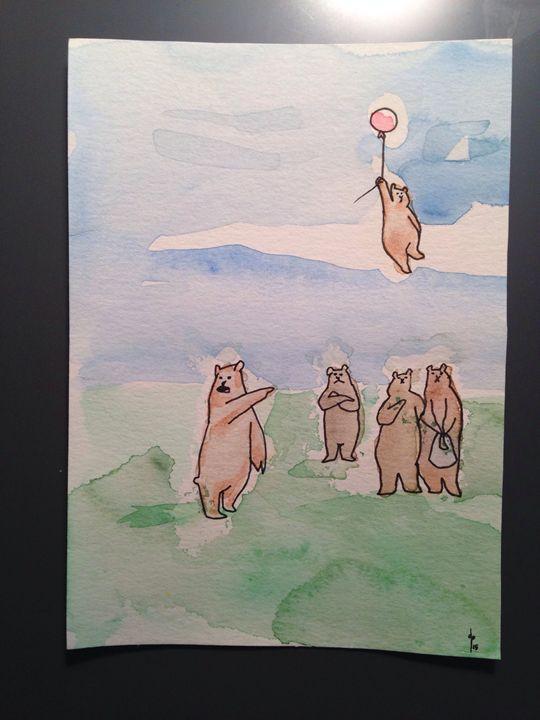 Balloon Bear - Dan Paul Roberts