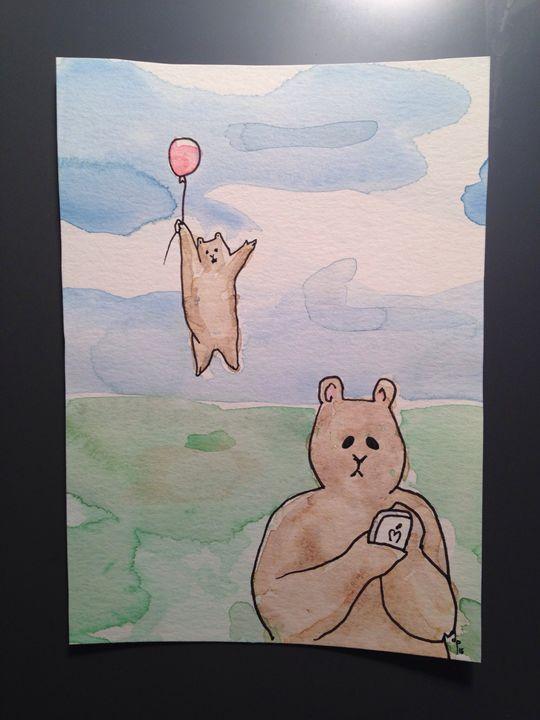 Distracted Bear - Dan Paul Roberts