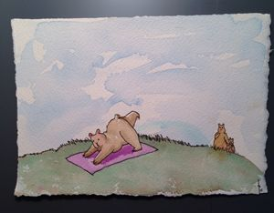 Yoga Bear Caught In The Act