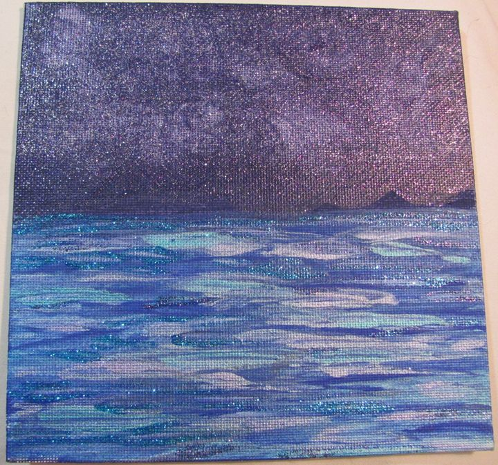 Starry Night on the Water - Rebecca Lockwin