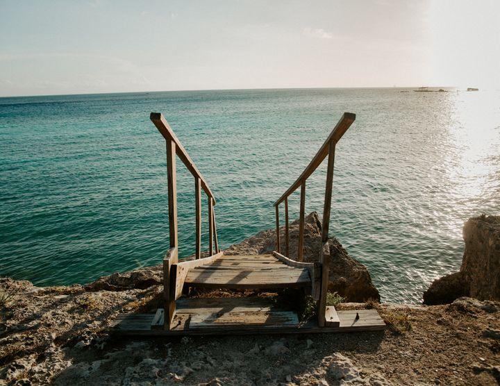 Steps to The Sea - Deidra Mckenzie Photography