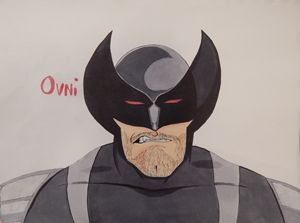 An Angry Wolverine