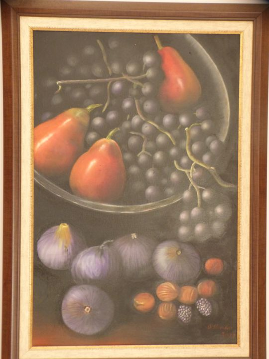 Do you like grapes, figs and others? - Handan`s paintings