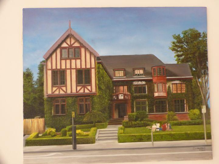 A house in Berkeley - Handan`s paintings