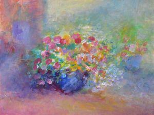 HIGH SUMMER FLOWERS - Bernice Grundy