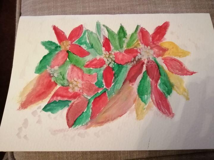 Christmas flowers - AnnaMaria,s Gallery