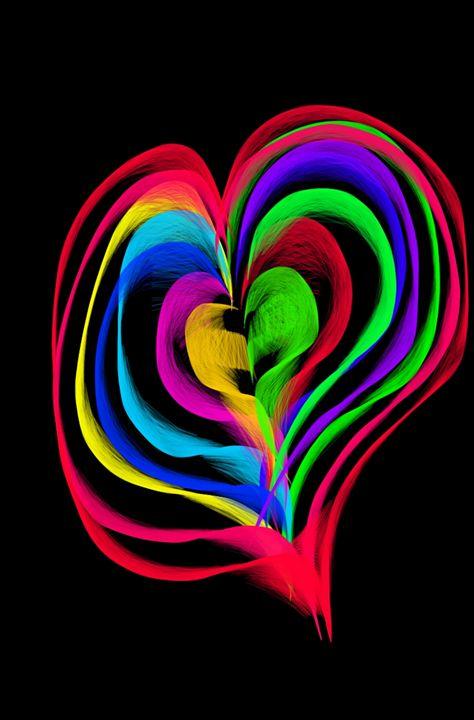 Rainbow Heart - Ravencassidy
