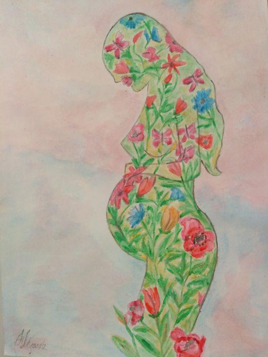 """""""Motherhood"""" - LebedevaArt"""